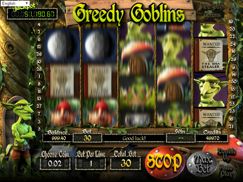Greedy Goblins Slots - Play Betsofts New Greedy Goblins Slot