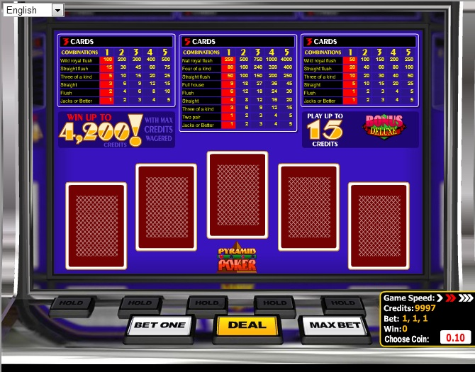 CloudBet Casino Screenshot 7