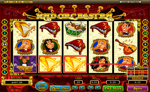 Mad Orchestra Slot - Play Online Video Slots for Free