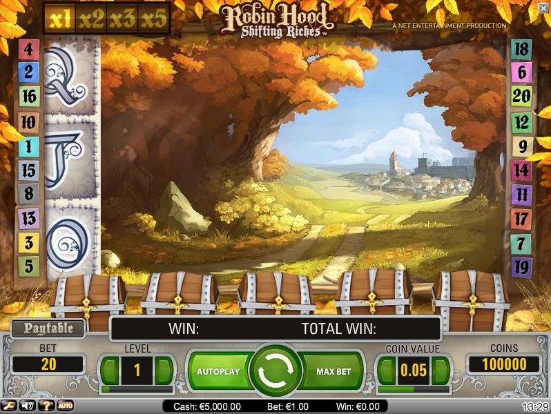 Free Slot Games Robin Hood