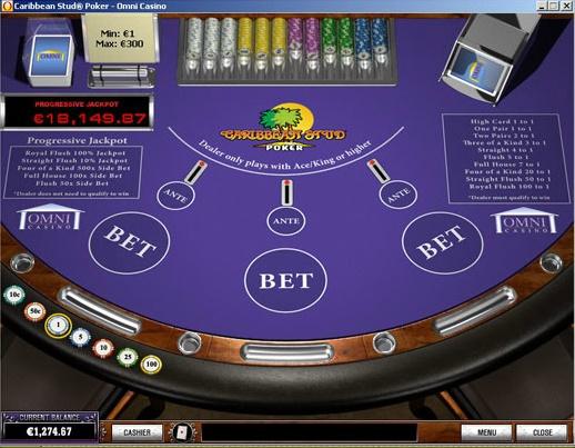 Omni Casino Screenshot 6