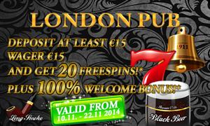 London Pub Bonus