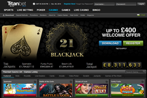 Titanbet Casino Bonus Code