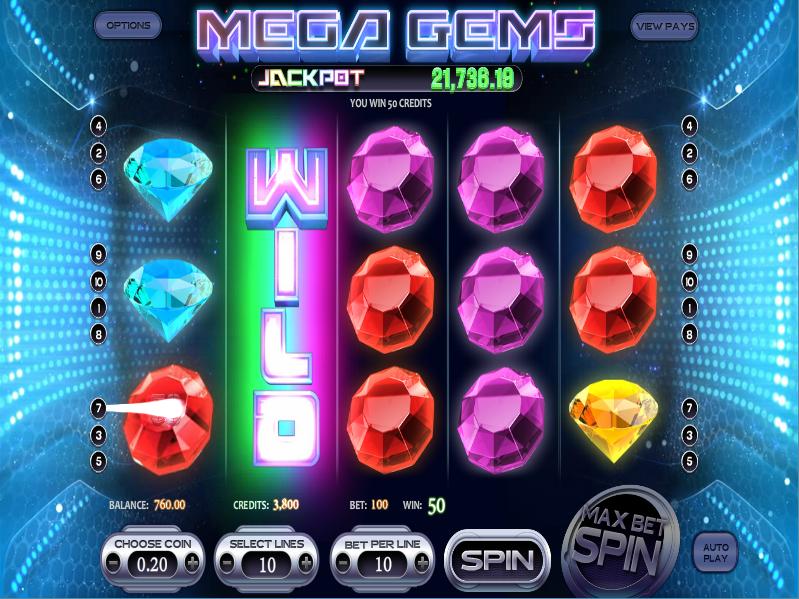 online casino game mega spiele