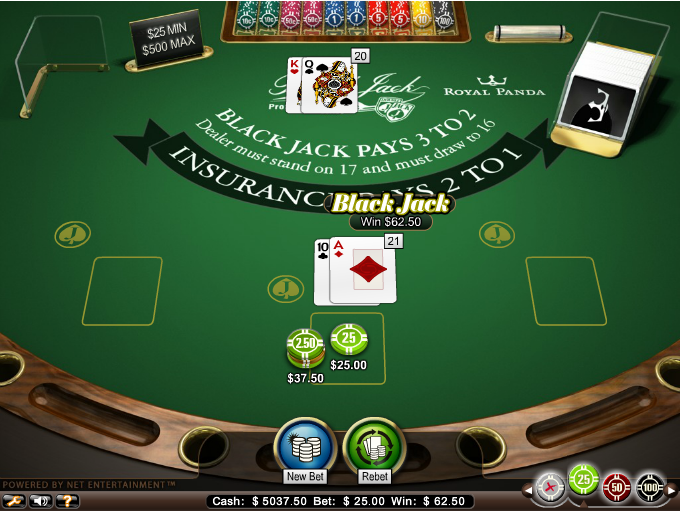 Royal Panda Casino Screenshot 6
