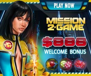 Mission2Game - $888 Slot Bonus