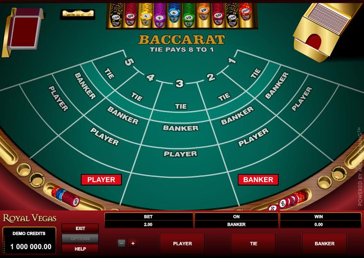 Royal Vegas Casino Screenshot 4