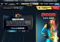 Mission2Game Slots Casino Bonus Codes