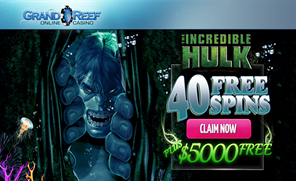 Grand Reef Free Spins Bonus