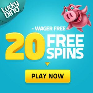 LuckyDino Casino - 20 Free Spins