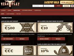 VegasPlay.eu Reload Casino Bonus