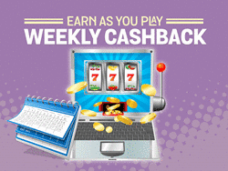 Spin and Win Weekly Cashback Bonus