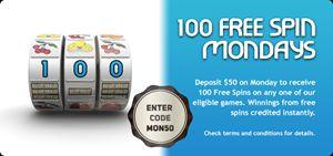 Free Spins Online Casino Bonus