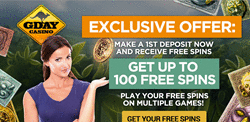 Gday Casino 100 Free Spins
