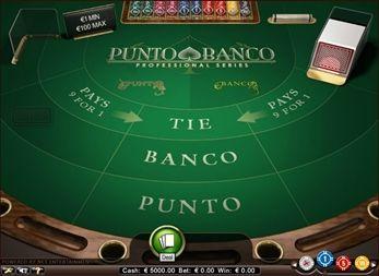 Punto Banco Pro Screenshot 1
