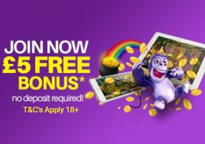 £5 Slot Fruity No Deposit Bonus