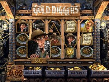 Gold Diggers Slot Screenshot 3
