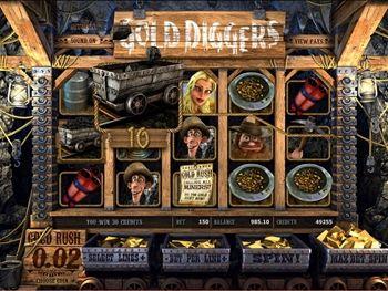 Gold Diggers Slot Screenshot 4
