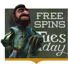 LimoPlay Free Spins Tuesday