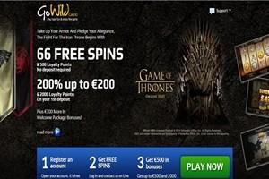 GoWild Casino 66 Free Spns
