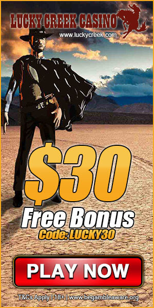 Lucky Creek No Deposit Bonus