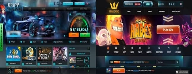 Drift Casino and Frank Casino Introduction