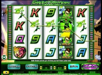 Green Lantern™ Slot Machine Game to Play Free in NextGen Gamings Online Casinos