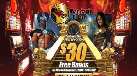 Mandarin Palace No Deposit Bonus