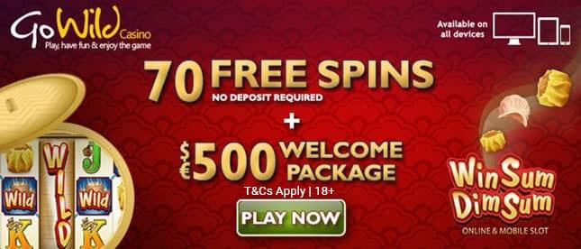 Win Sum Dim Sum Slot 70 Free Spins