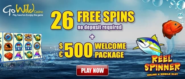 GoWild Casino Free Spins Bonus
