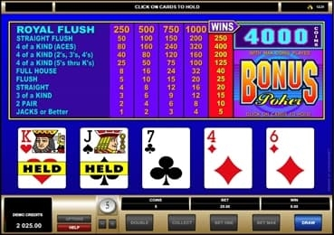 BetBright Casino Screenshot 7